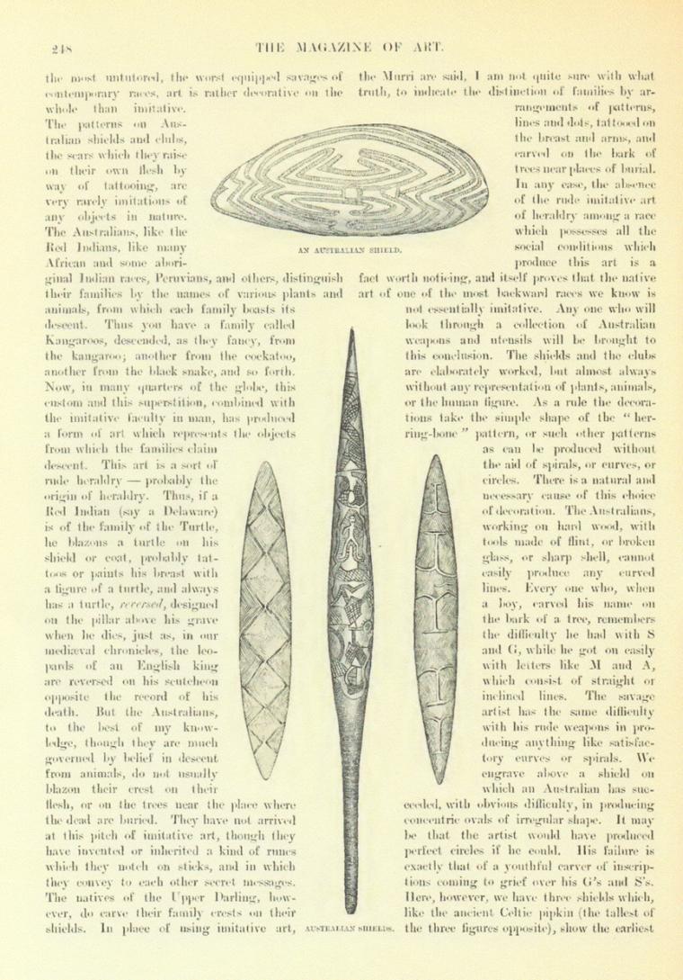 オーストラリアの楯(AN AUSTRALIAN SHIELD)
