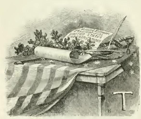 ペリーの『日本遠征記』(1856)大統領からの親書